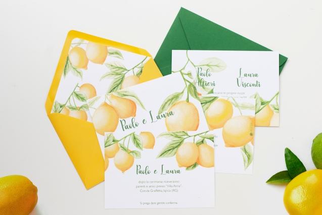 inviti nozze limoni